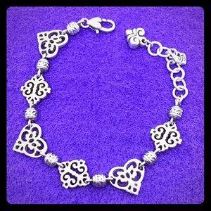 Brighton Geneva Heart Bracelet